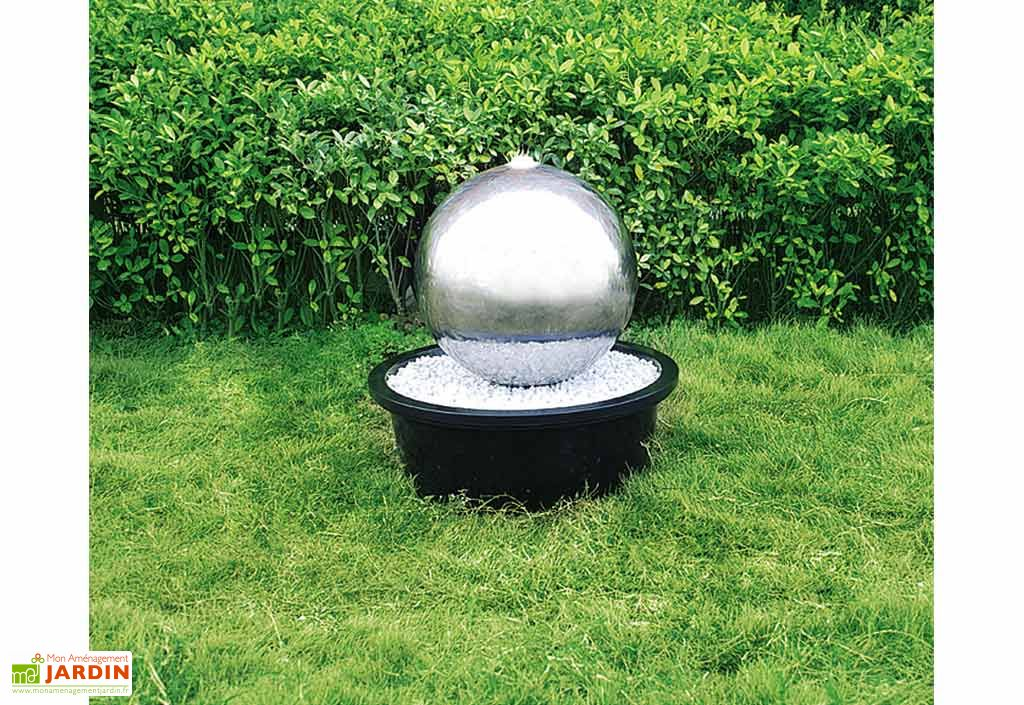 Fontaine Jardin Inox Pacific