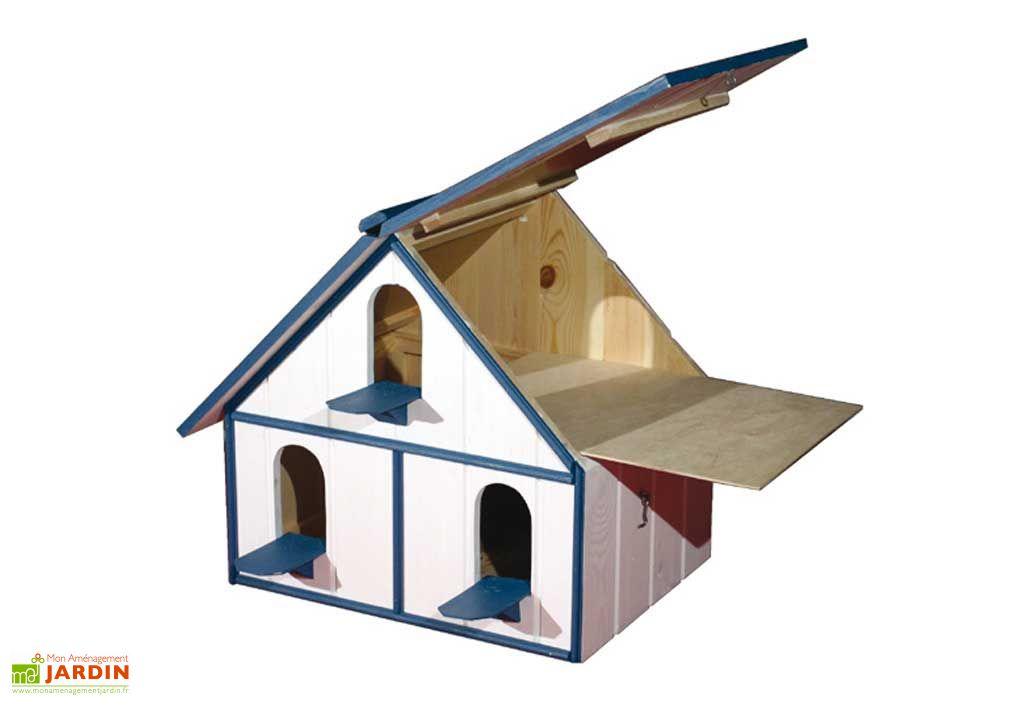 Pigeonnier alamo 3 compartiments pigeonnier alamo 3 for Alamo playhouse salon jardin