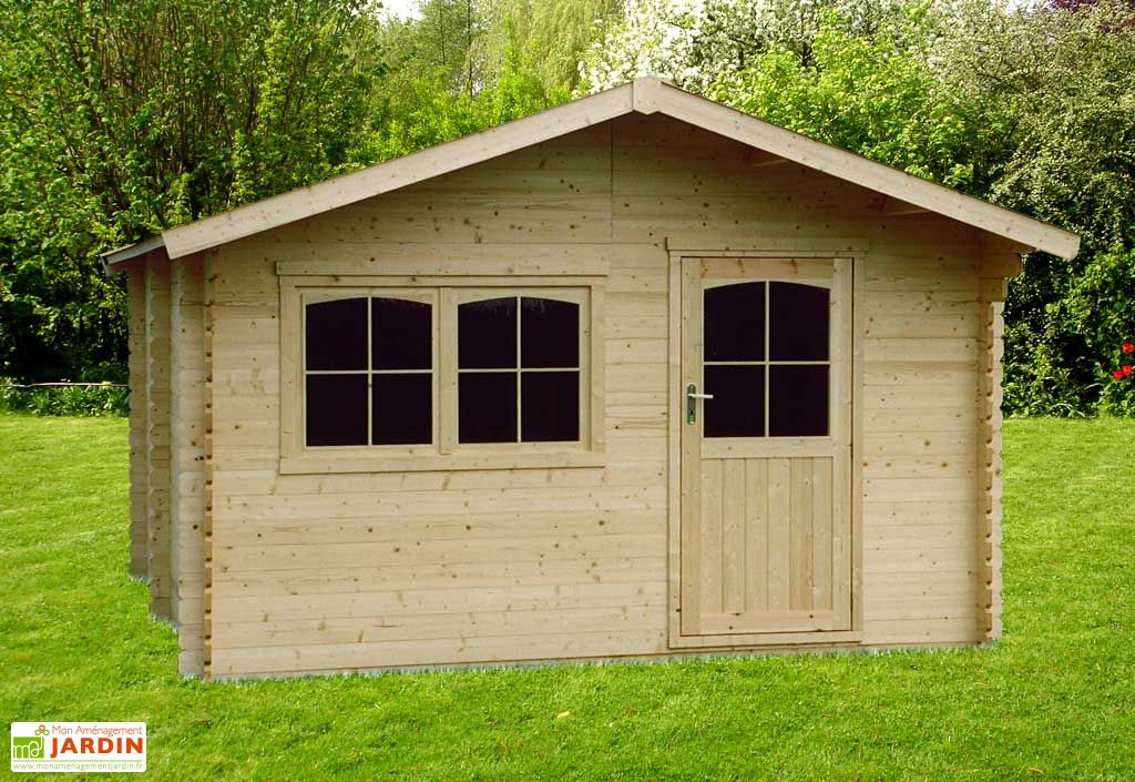 Abri de jardin bois valinan abri 34 t4 386 286 fdo spv for Abris de jardin en bois belgique