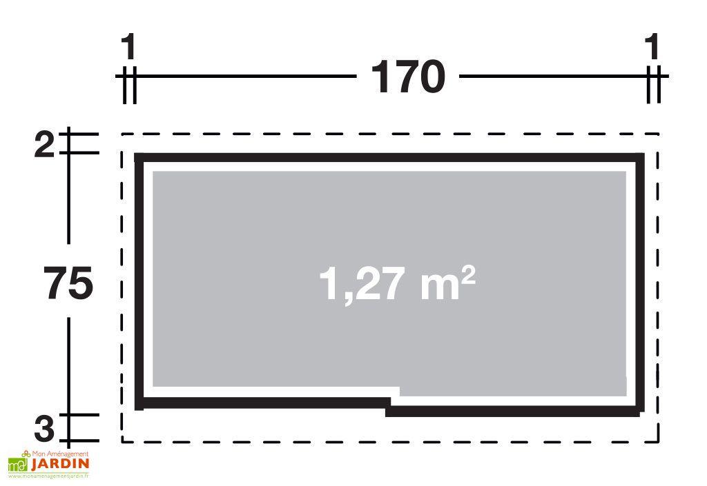 Armoire de Jardin Métal Takubo 177 (170x75)