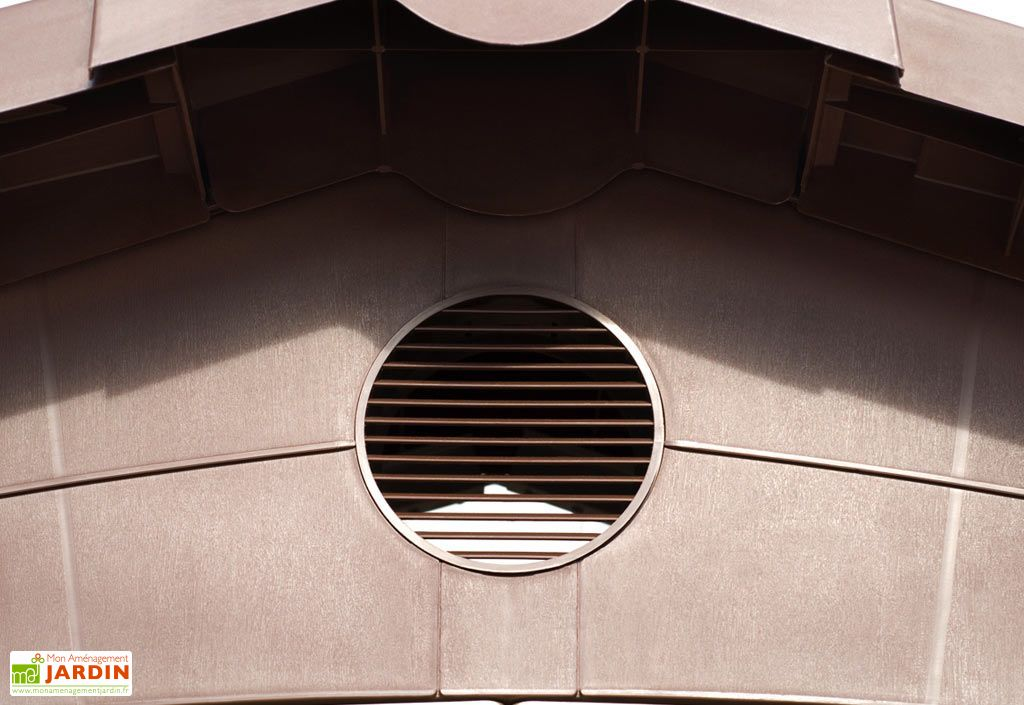 Abri de Jardin Résine Ghibli (247x330) 7 m²