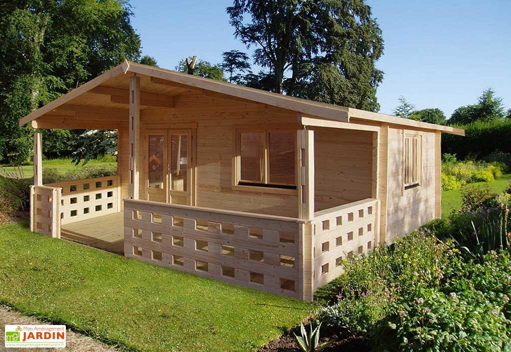 Abri de Jardin Bois Bouilladisse 45mm (530x650cm)