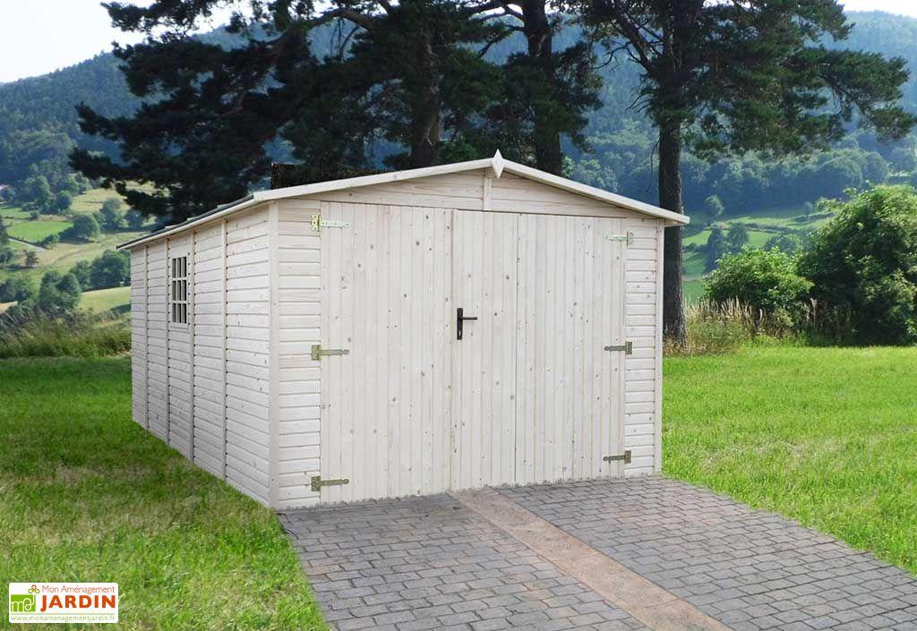 Garage Bois 19mm Cuges (300x490cm)