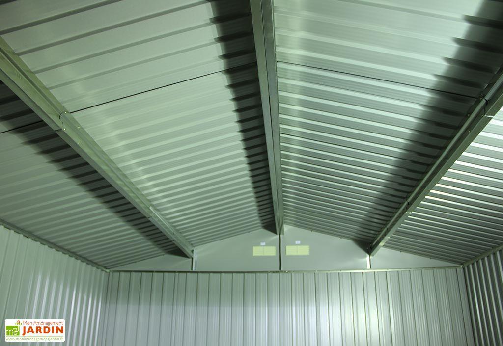 Abri de Jardin Metal Duramax Colossus 321x242x210cm (l,l,h)