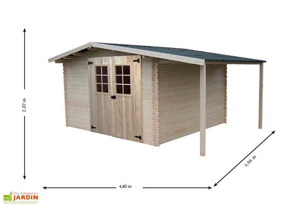 abri de jardin bois vendee 330x300x220 embo t 28 mm habrita