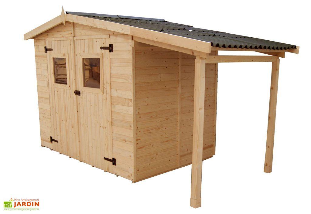 Abri de jardin bois eden b cher 336x160 habrita - Abri de jardin bucher ...