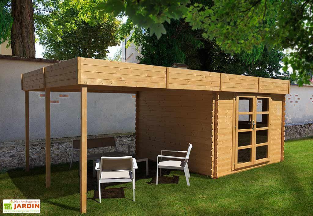 abri jardin bois pool house almandara abri de jardin 600 x 300 cm chal t jardin. Black Bedroom Furniture Sets. Home Design Ideas