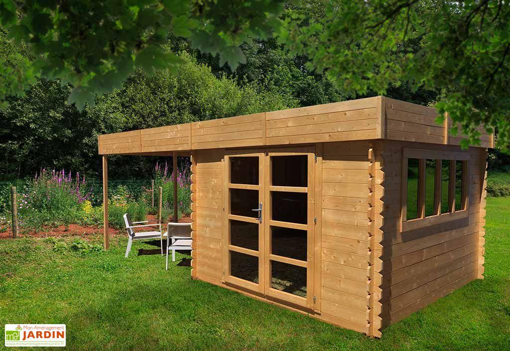 Abri jardin bois Pool House Almandara