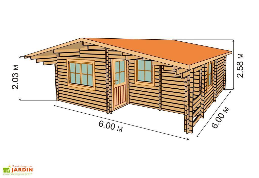 Emejing plan pavillon de jardin bois ideas for Abri jardin bois 10m2