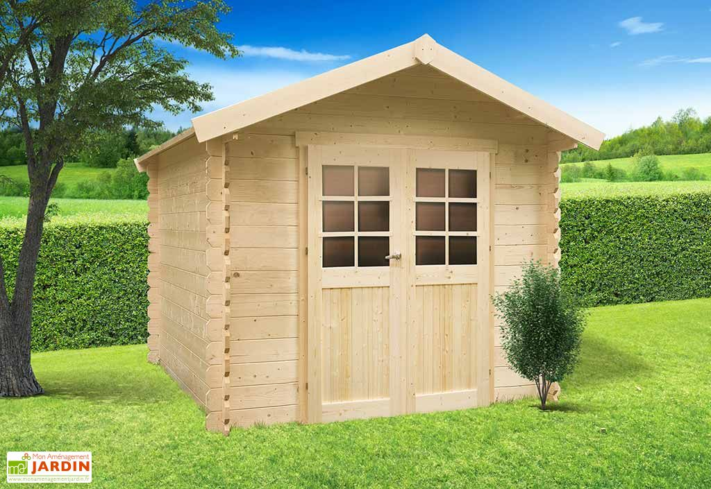 Abri de jardin bois gera 19 mm 248x248 solid for Abris jardin bois