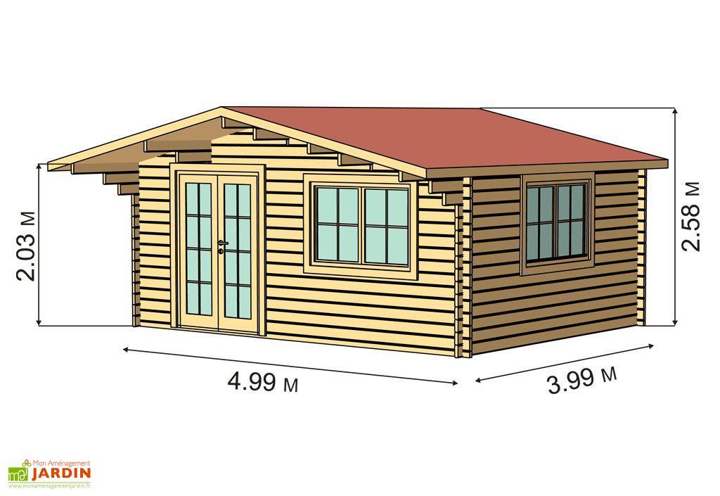 Plan abri de jardin bois interesting abris de jardin - Plan abris de jardin ossature bois ...