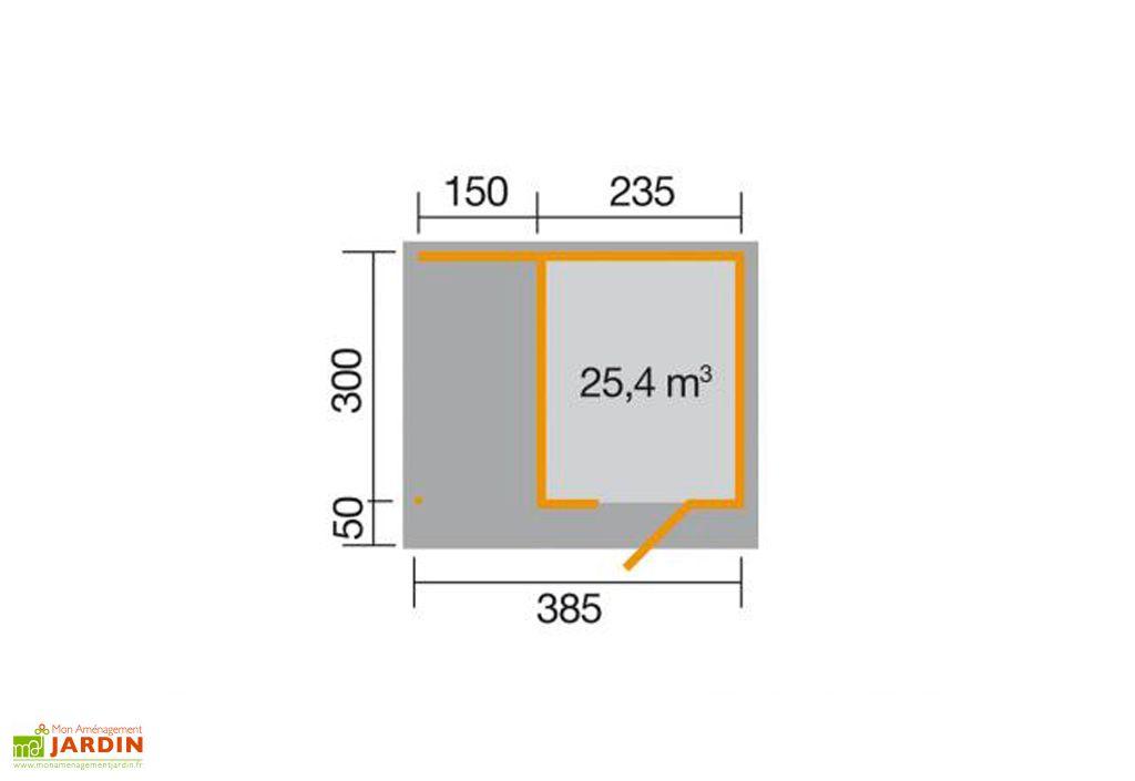 Abri Design Lounge 2 (Plusieurs Tailles) 28mm