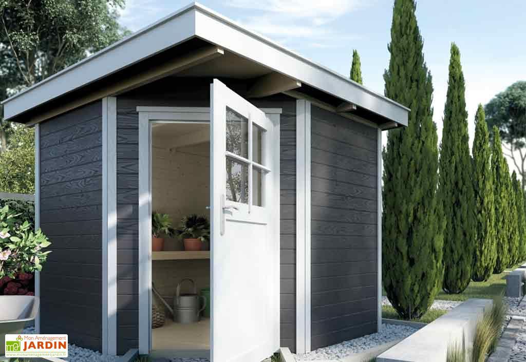 Emejing cabane de jardin d angle photos for Abri jardin bois 10m2