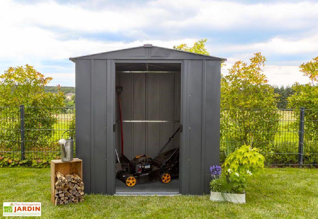 Abri de jardin en acier galvanisé Spacemaker 2 x 1,8 m
