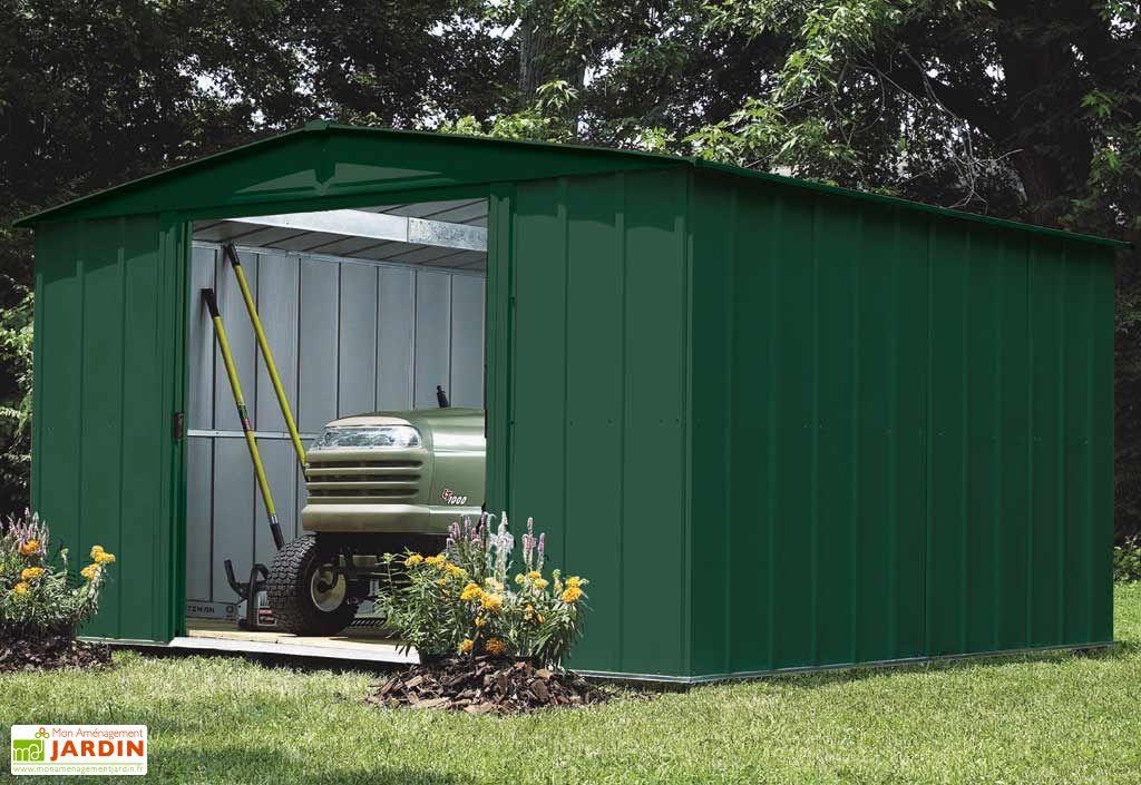abri de jardin metal spm 1013 313x413x198 chal t jardin. Black Bedroom Furniture Sets. Home Design Ideas