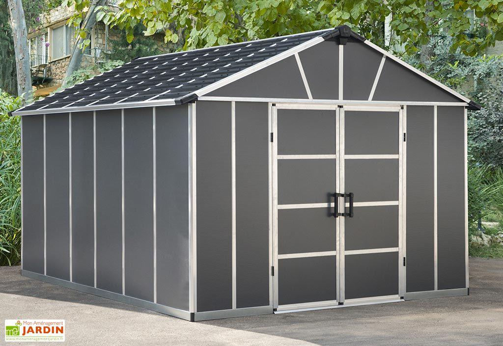 Abri de Jardin en Polycarbonate et Aluminium Palram Yukon 11 m²