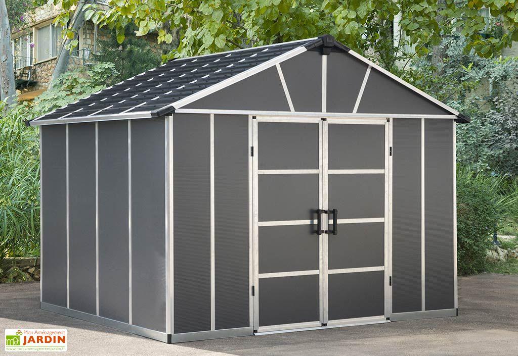 Abri de Jardin en Polycarbonate et Aluminium Palram Yukon 7 m²