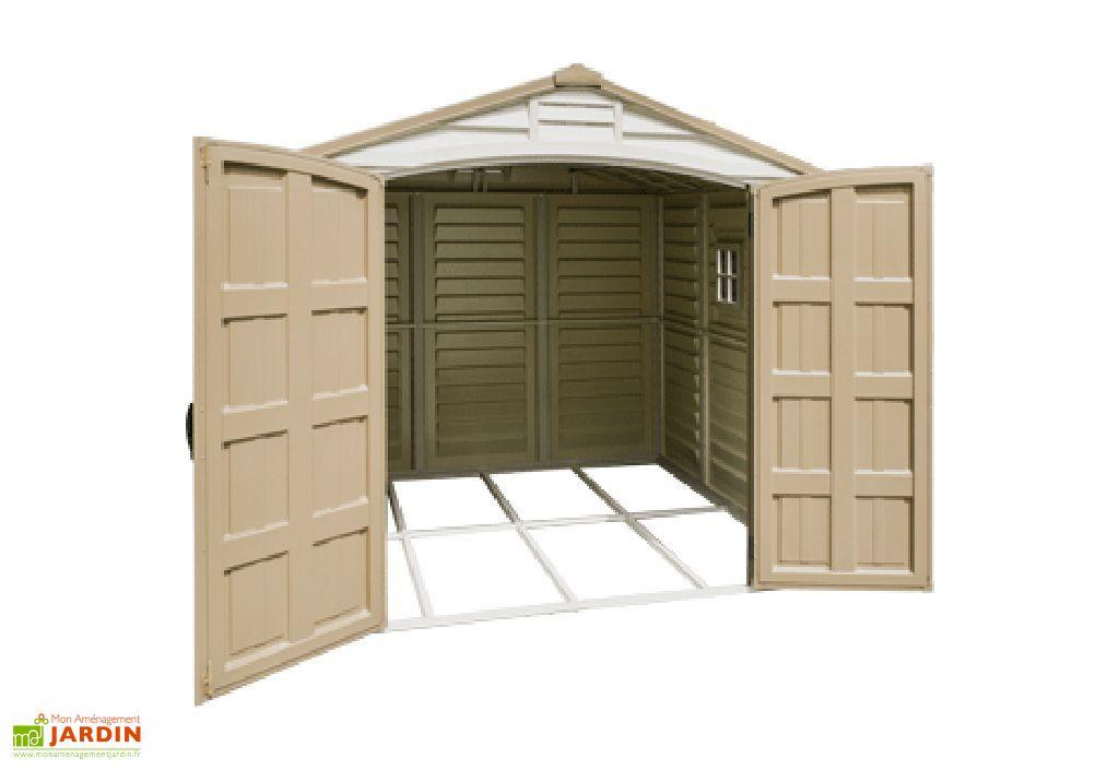 Abri de Jardin PVC Duramax Woodstyle (2,47x2,47)