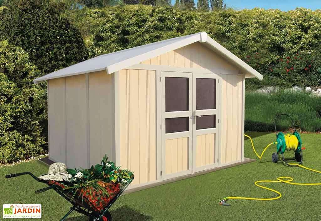 Abri de Jardin PVC Basic Line 8