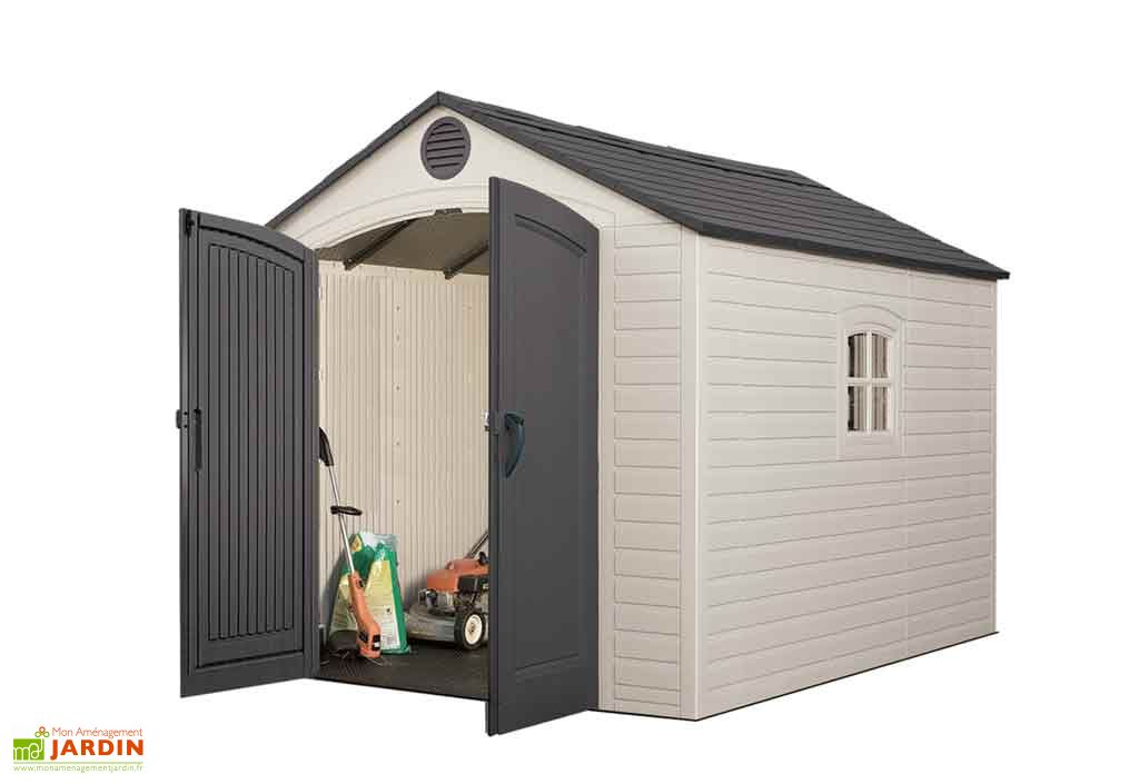 abri de jardin pvc sentinel 6405 lifetime. Black Bedroom Furniture Sets. Home Design Ideas