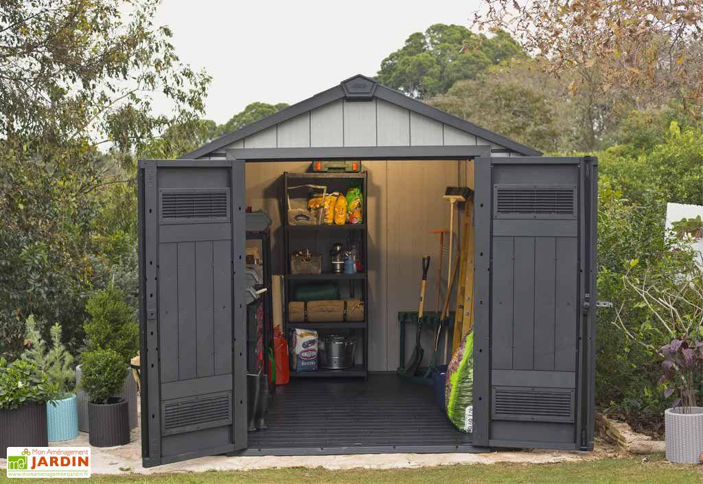 Abri de jardin PVC Brossium 757 (229x223)