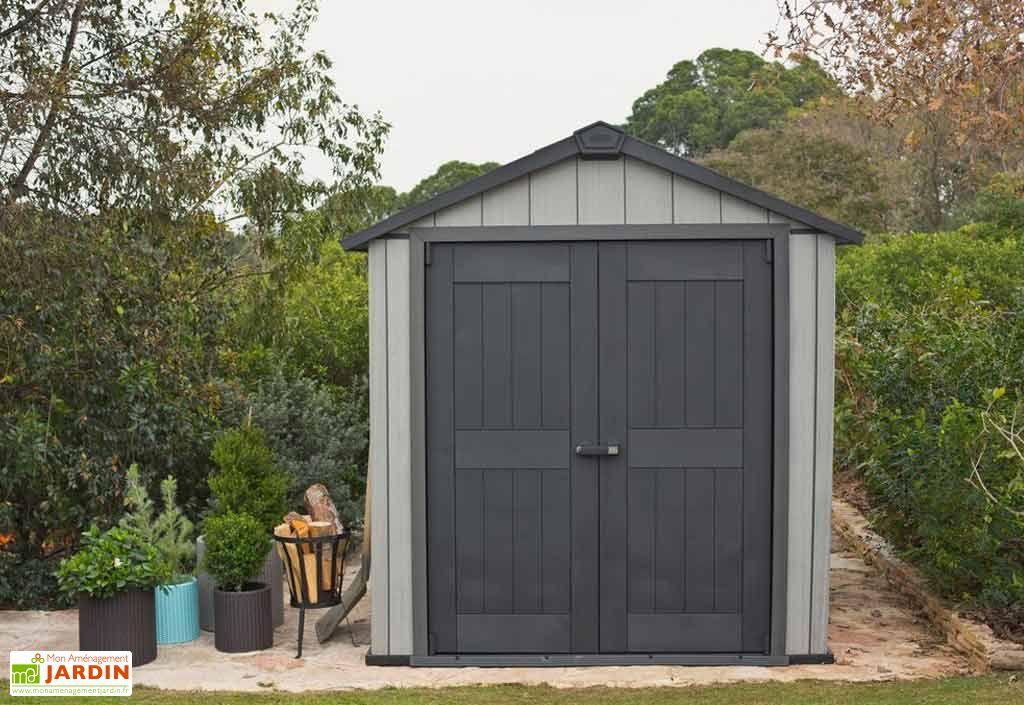 Abri de jardin PVC Brossium 7511 (229x350)