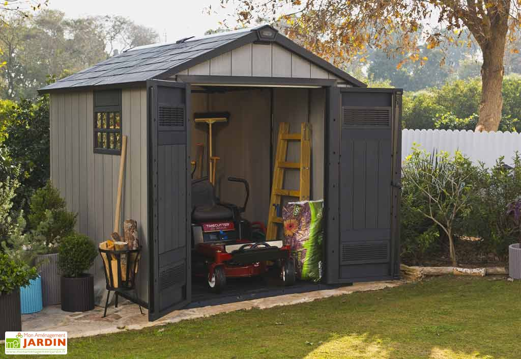Abri de jardin PVC Brossium 759 (229x287)