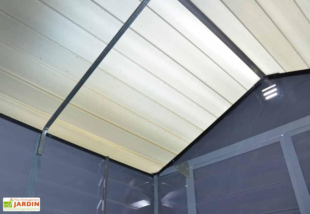 Abri de Jardin Polycarbonate Skylight Palram Gris (3,15x1,88) 5,92 m²