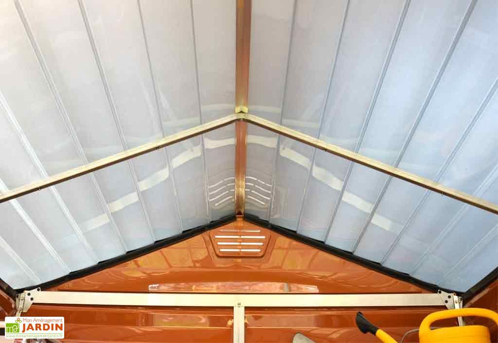 Abri de jardin polycarbonate skylight palram 3 05x1 85 5 64 m skylight shed 6 39 x 10 39 palram - Toit pour abris de jardin ...