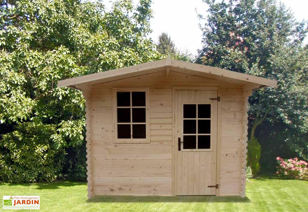 Abri de jardin bois Umbella (260x195x227)