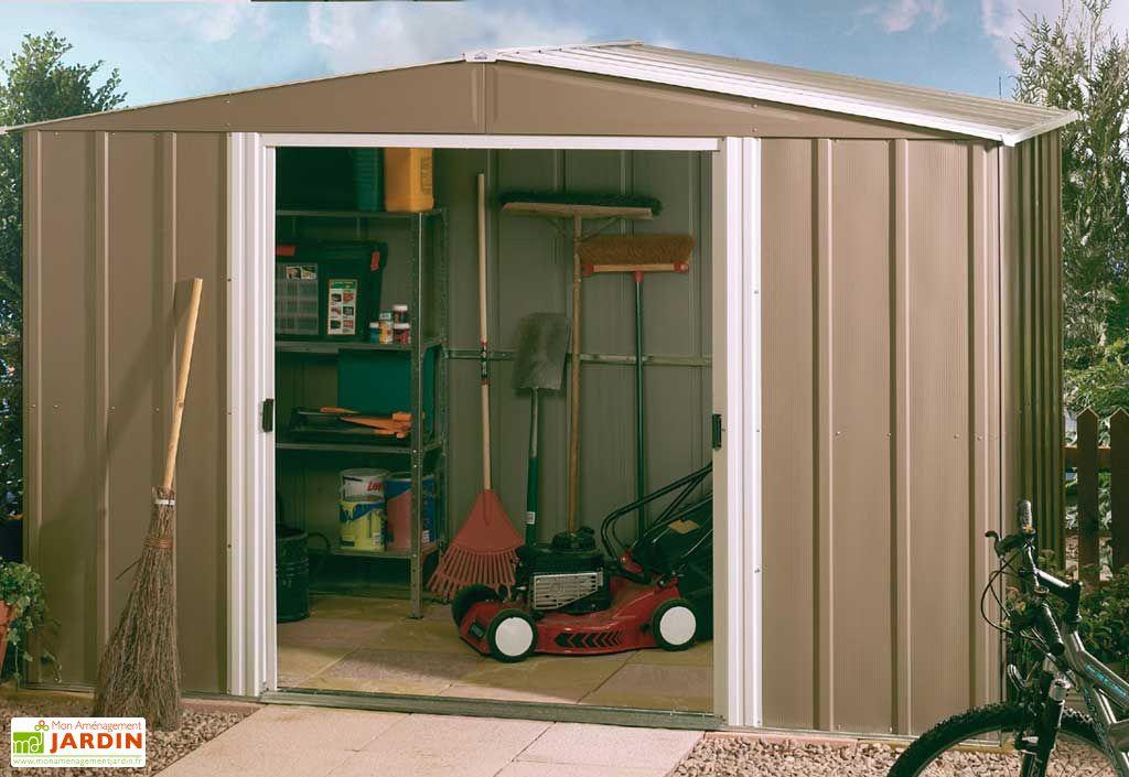 Abri de jardin metal RMW 106 Genêt
