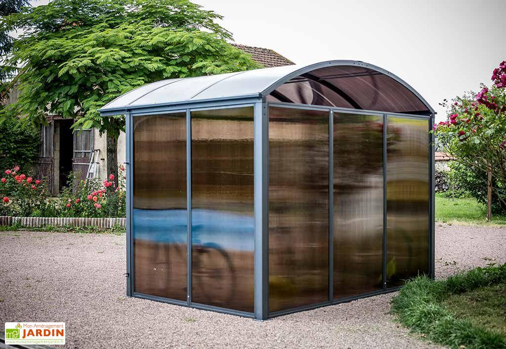 Abri de Jardin Aluminium et Polycarbonate (300x240)