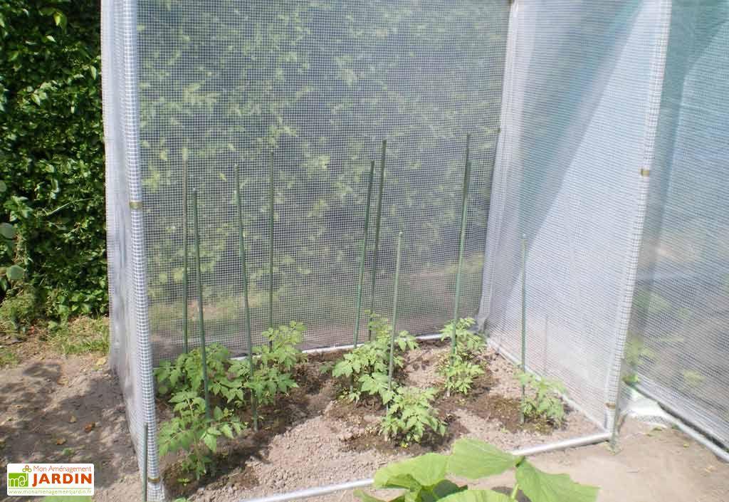 Mini Serre de Jardin Potager PVC 300 Arme