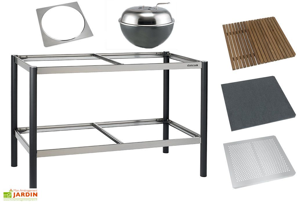 cuisine d 39 exterieur modulable dancook armature dancook. Black Bedroom Furniture Sets. Home Design Ideas