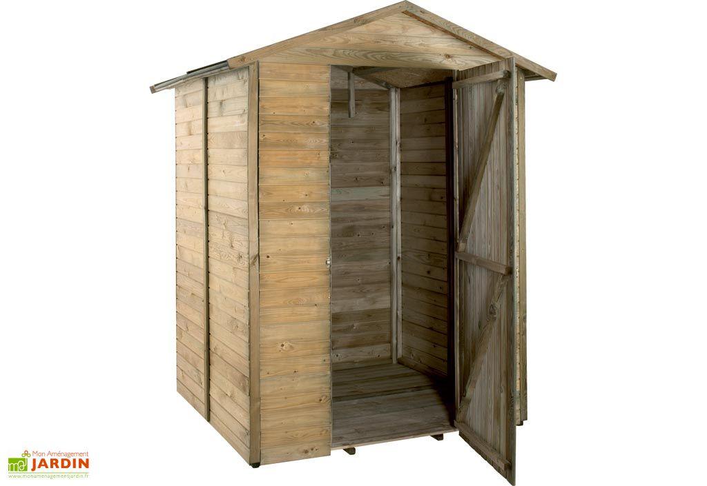 Armoire de Jardin Bois Storage Maori (175x163x206)