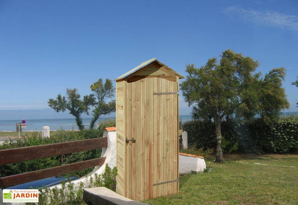 cabane de jardin en bois simia jardipolys outils