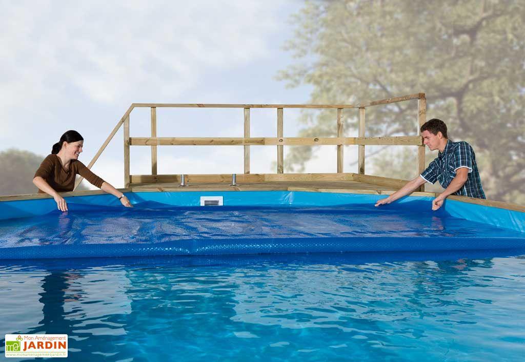 Bache chauffante pour piscines Capri et Korsika