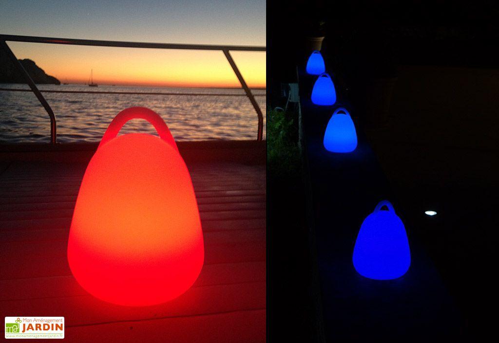 Baladeuse Lumineuse Multicolore Autonome 20x25cm(l,h)