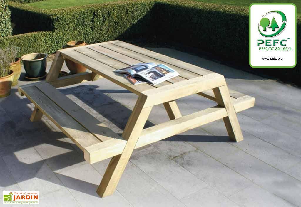Table Pique-Nique Clipper 6