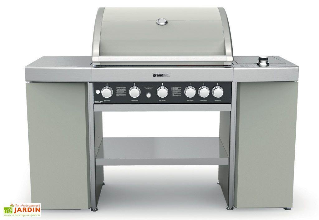 Barbecue Gaz Maxim Island GRIS (22+4,5kw)