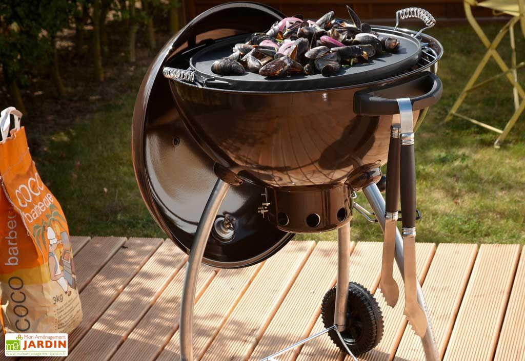 "Barbecue Charbon de Bois ""M"" Premium"