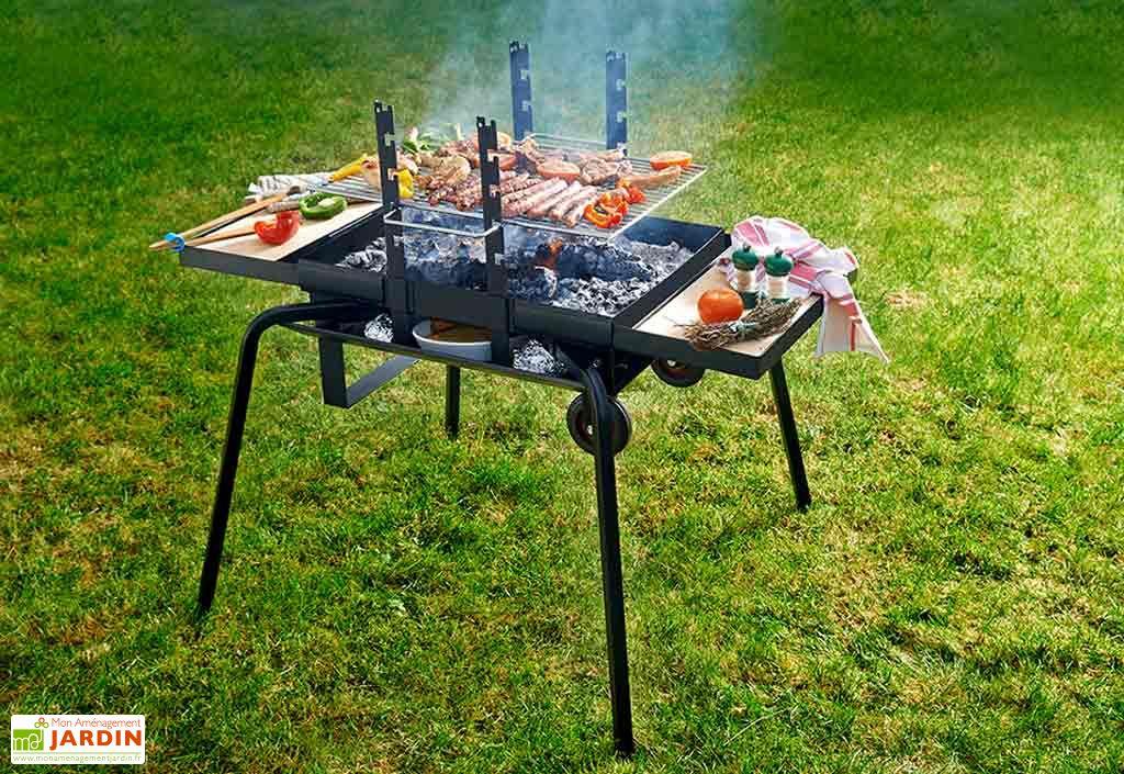 Barbecue Braséro Charbon de Bois Junior Luxe