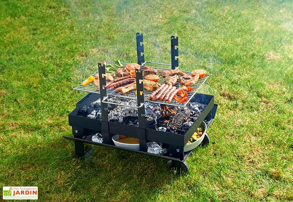 Barbecue Braséro Charbon de Bois Junior