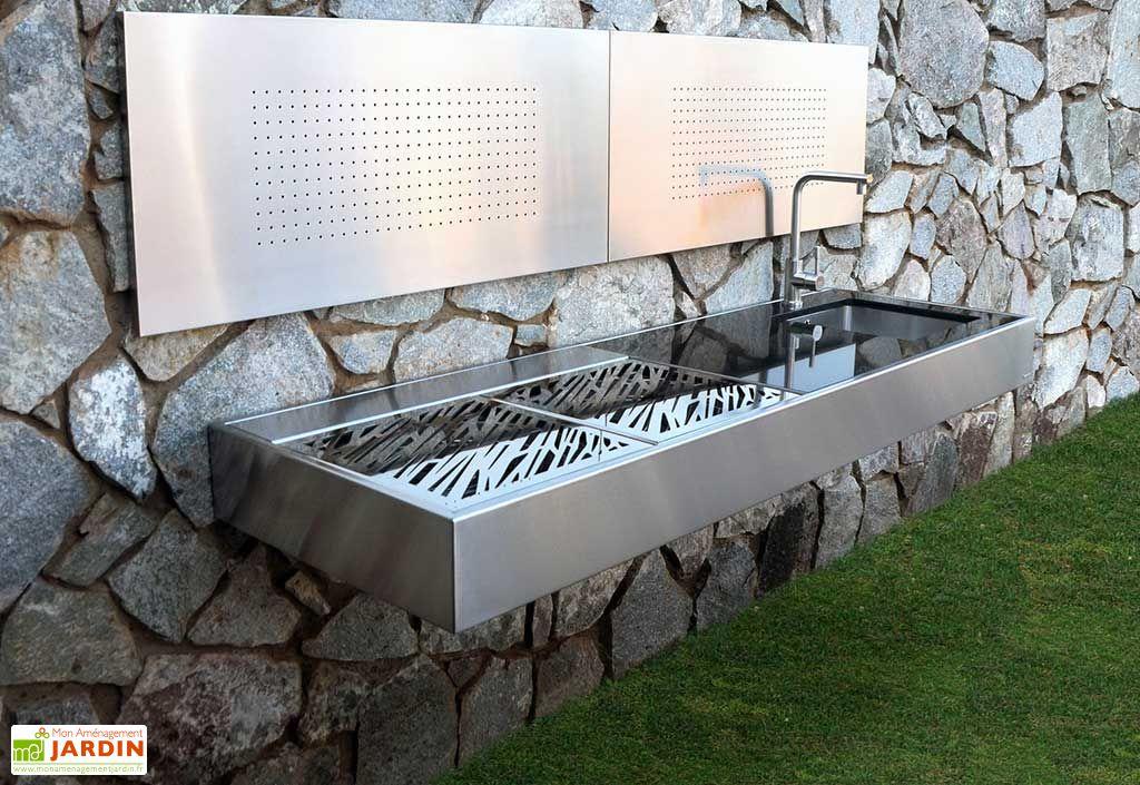 Barbecue Design au Charbon de Bois Krakatoa Élite Luxury