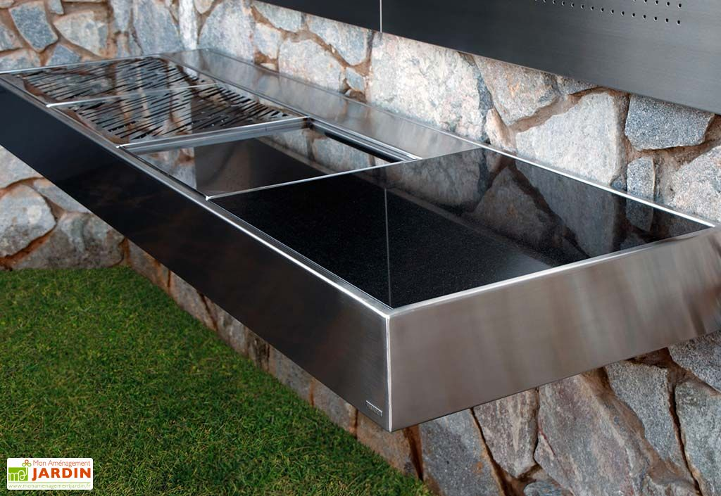 Barbecue Design au Charbon de Bois Krakatoa Fire Luxury