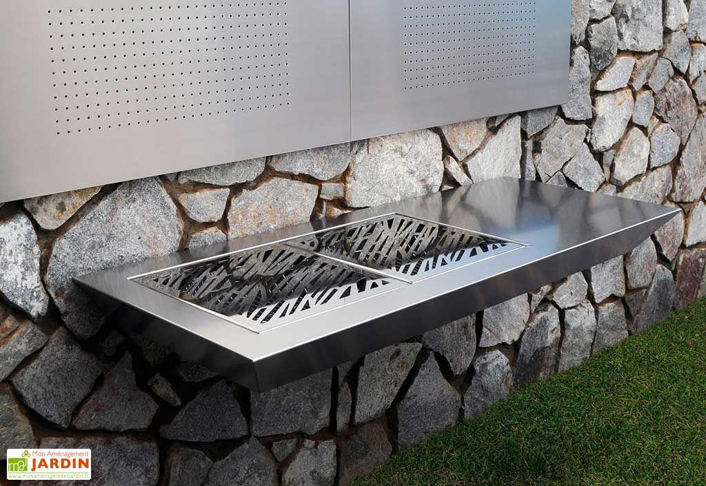 Barbecue Design au Charbon de Bois Stromboli Luxury
