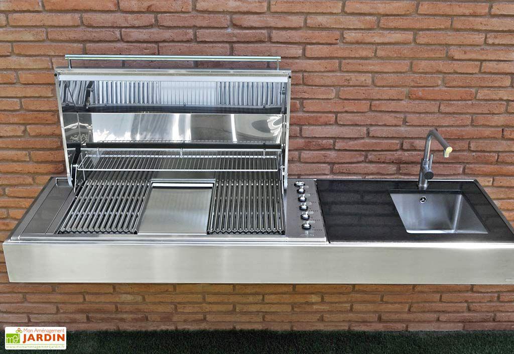 Barbecue Design au Gaz Krakatoa Elite Point