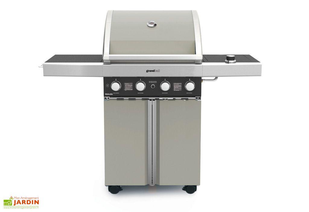 Barbecue Gaz Maxim 423 GRIS (17,6+4,5kw)