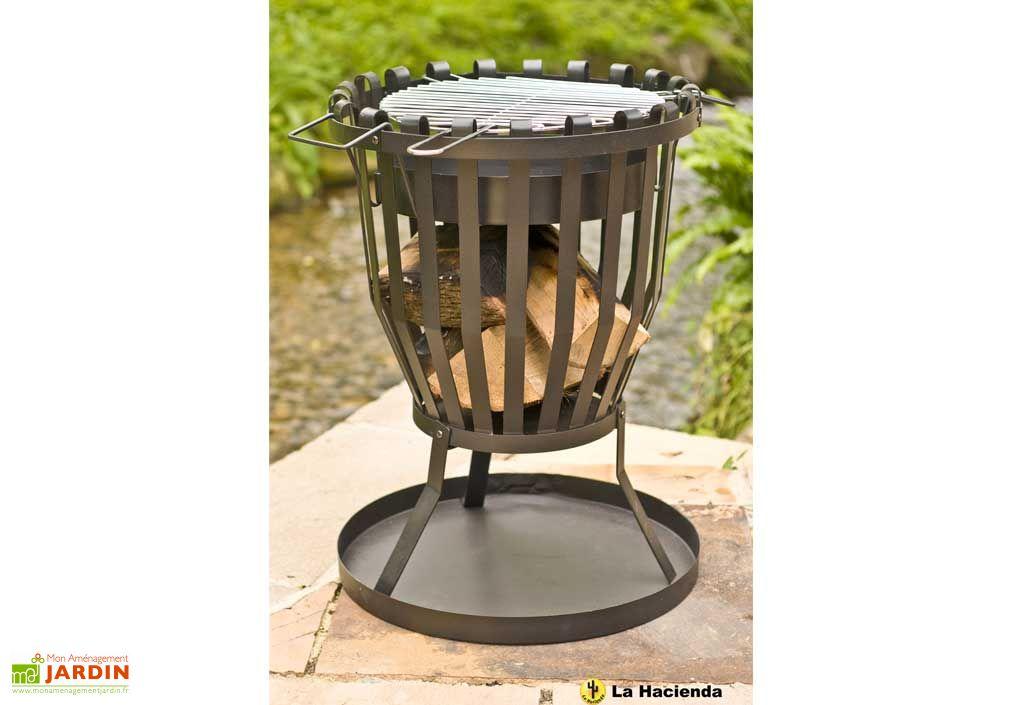 bras ro foyer barbecue yukon bras ro panier acier. Black Bedroom Furniture Sets. Home Design Ideas