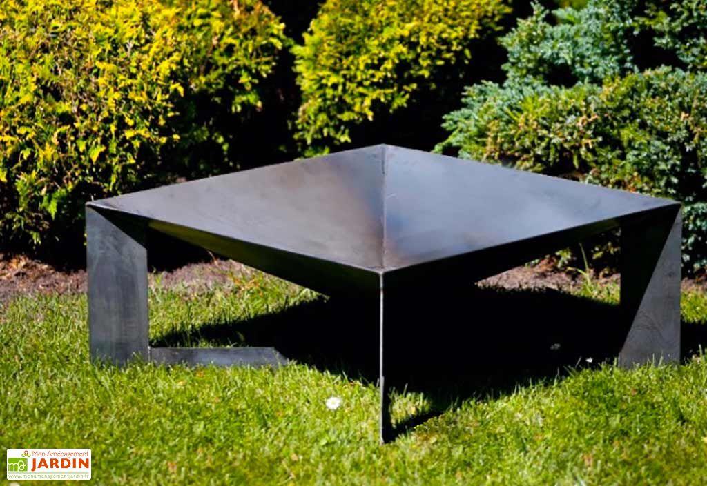 Braséro Pan 34 Acier (70x70x30 cm)